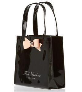 Ted Baker Black Leather Shoulder Bag 108