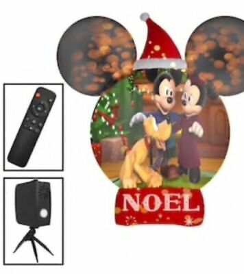 Large Disney Mickey Mouse Christmas Airblown Inflatable Projection Yard Decor
