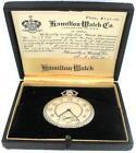 Hamilton Pocket Watch Box