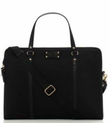 Kate Spade Gramercy Park Calista Black Laptop Tote Bag