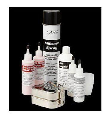 Complete Lang Denture Duplicator Kit 0395 Acrylic Pinktooth Color Flask