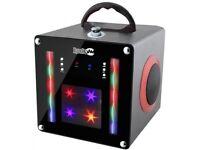 Rockjam Party Bluetooth Disco Party Speaker, BLACK BRAND NEW
