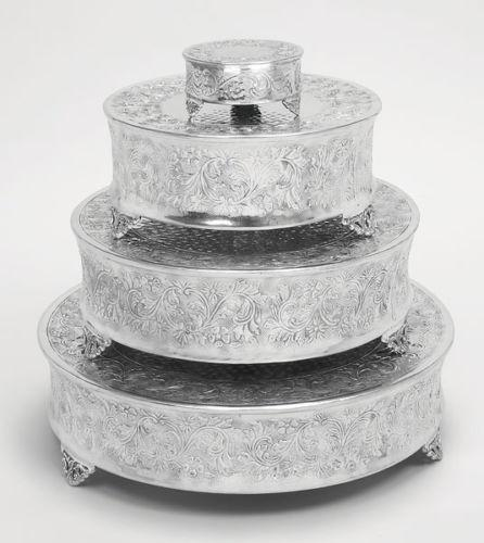 wedding cake plates and pillars wedding cake stand set ebay 23505