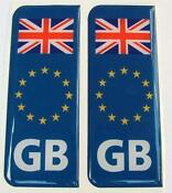 Number Plate Stickers UK