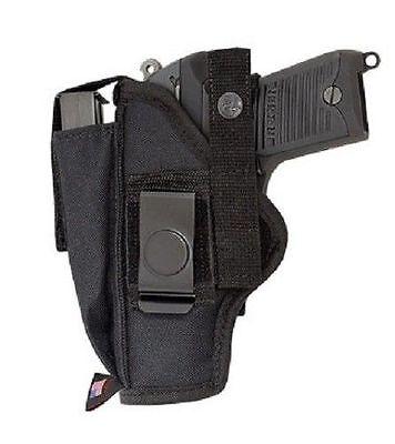 NYLON HIP BELT GUN HOLSTER FOR SMITH & WESSON M&P SHIELD 9MM & 40 S&W & 45 ACP