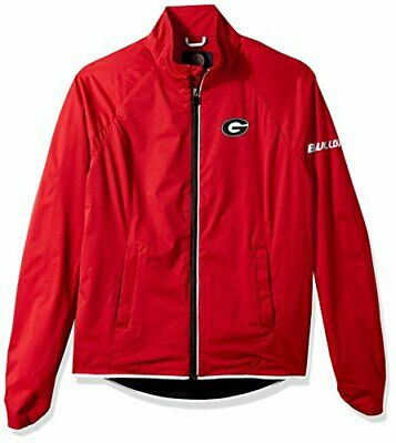 NCAA Georgia Bulldogs Women's Batter Light Weight Full Zip Jacket, Small, Red Georgia Bulldogs Red Light