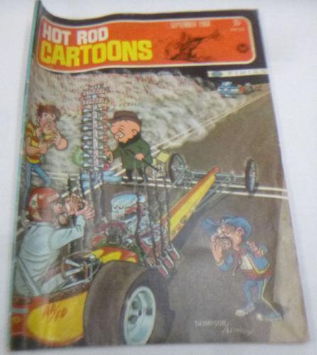 Hot Rod Cartoons Magazine