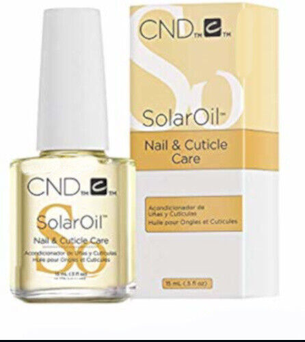 CND Essentials SOLAROIL Solar Oil Nail & Cuticle Care Conditioner .5 fl oz