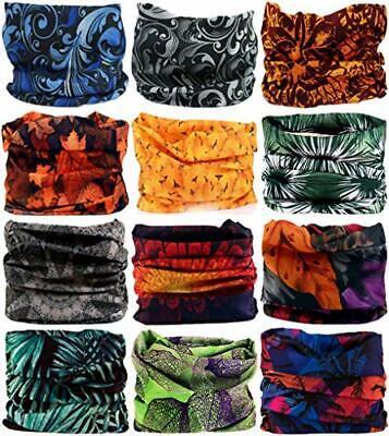 Headwear Head Wrap Sport Headband Sweatband 220 Patterns 12 in 1 Magic