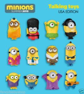 Brand New McDonald's Minions for Sale - #2, 5, 9, 10, 11, 12