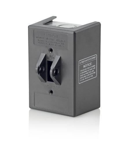 Leviton N13NC-TDS Type 1 Enclosure, For Use with 30 Amp Motor Starter Switch