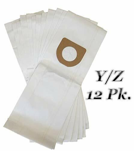Hoover Type Y/Z Vacuum Bags 12pk Microfiltration 2 Ply System WindTunnel Tempo !