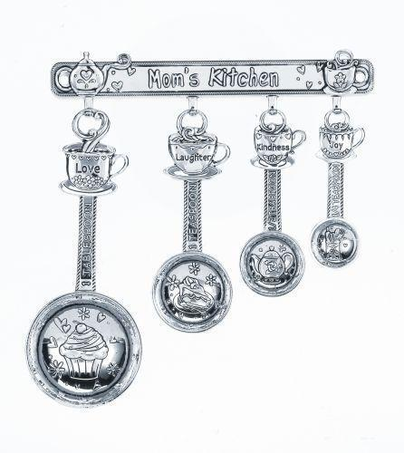 Measuring Spoons With Stand: Measuring Spoon Rack