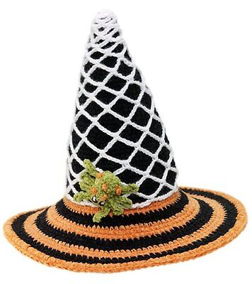 San Diego Kostüme ( New San Diego Hat Halloween Spider COBWEB WITCH Costume Photo Prop 12-24 M 1-2 )