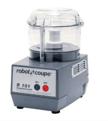 Robot Coupe R101 B Clr 1 Speed Cutter Mixer Food Processor W 2.5 Qt Bowl 120v