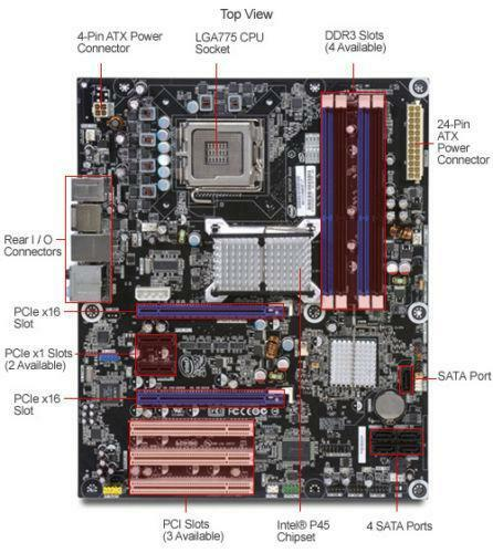 Motherboard Schematic Diagram: Intel Motherboard 775 Extreme