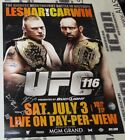 UFC MMA Autographed Posters