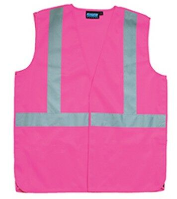 Pink Safety Vest - Ladies Fitted Pink ...