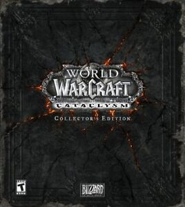 WORLD OF WARCRAFT: CATACLYSM COLLECTOR'S EDITION PC