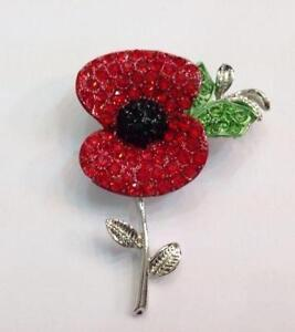 792f3f38a70 Poppy Brooch | eBay