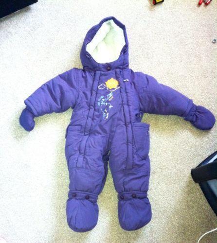 baby winter suit ebay. Black Bedroom Furniture Sets. Home Design Ideas
