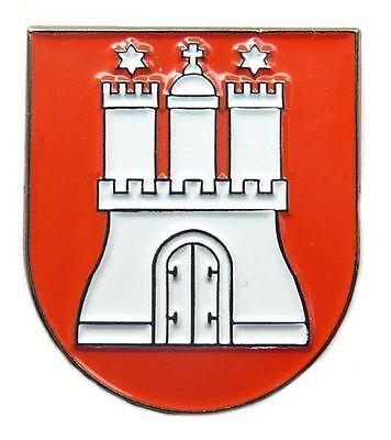 Pin Hamburg Wappen Anstecker NEU Anstecknadel