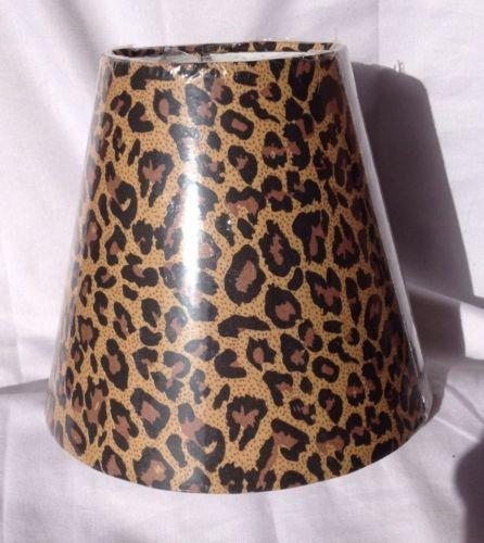 Leopard Print Lamp Ebay