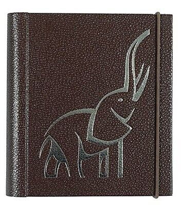 Password Journal Organizer, Elephant, Brown, New, from Meadowsweet Kitchens