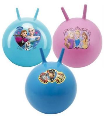CHILDRENS DISNEY PRINCESS SPACE HOPPER HOP BOUNCE JUMP BALL FUN ACTIVE TOY Disney Princess Hop Ball