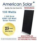 130 Watt Solar Panel