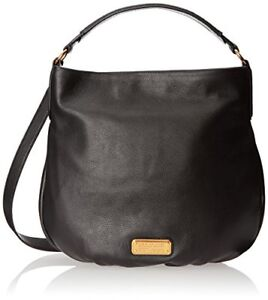 Authentic MARC BY MARC JACOBS New Q Hiller hobo in black - EUC