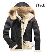 Mens Leather Jacket Retro
