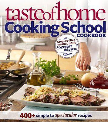Taste Of Home  Cooking School Cookbook  400   Simp