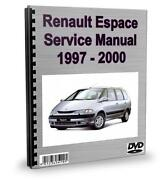 Renault Espace Workshop Manual