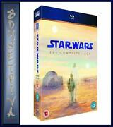 Star Wars Blu Ray Complete Saga