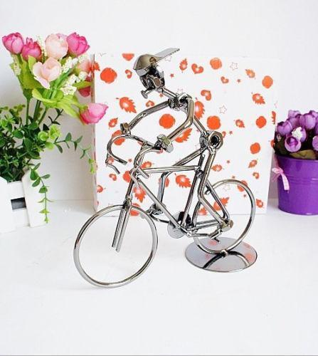 Wrought iron bicycle home garden ebay - Wrought iron bicycle wall art ...