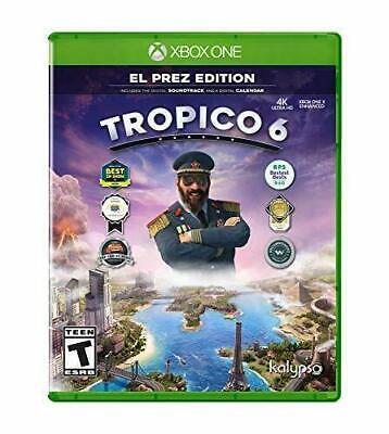 Tropico 6 EL Prez Edition (Microsoft Xbox One) Brand New Factory Sealed