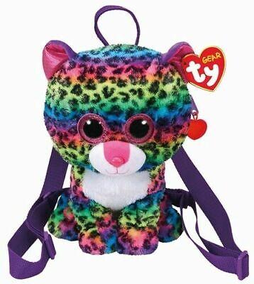Leopard Fashion Tasche (TY FASHION BEANIE BOOS LEOPARD -DOTTY- RUCKSACK + GESCHENKSÄCKCHEN)