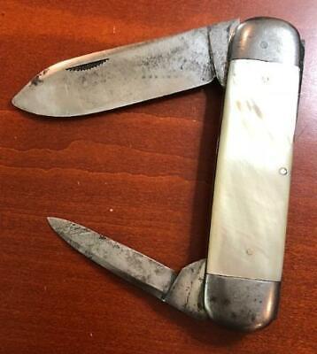 Antique W R Case & Sons Bradford PA Pear Sunfish Toenail Knife