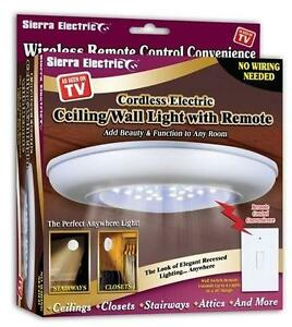 Cordless light ebay cordless ceiling lights mozeypictures Choice Image