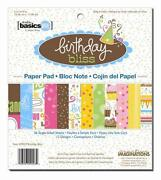 Birthday Scrapbook Paper