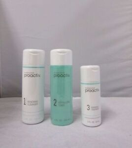 PROACTIV 3 PC 60 DAY SUPPLY KIT SEALED - PROACTIVE SOLUTION + FREE REFINING MASK