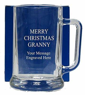 Engraved Novelty Shot Glass Grampy Nana Granny Christmas Birthday Gift 084