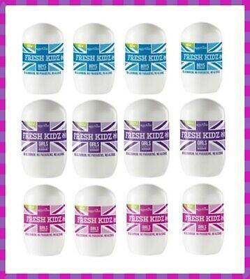 Pack of 4 Keep It Kind FRESH KIDZ Natural Deodorant **Boys or Girls**