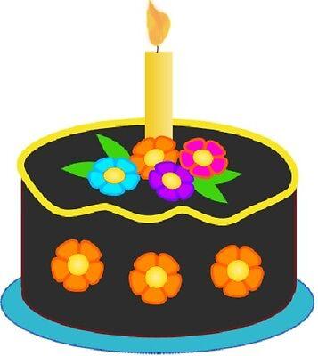 30 Custom Simple Decorative Cake Personalized Address Labels