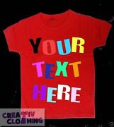 Personalised Toddler Tshirts