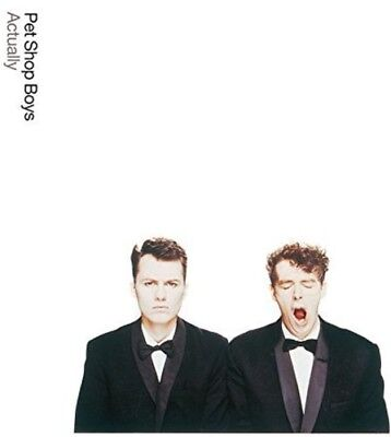 Pet Shop Boys   Actually  Further Listening 1987 1988  New Cd