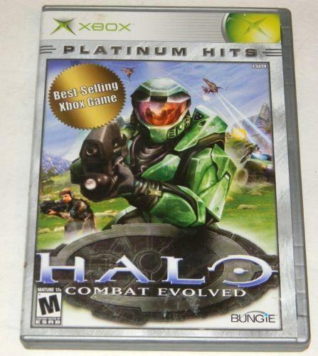 Original Xbox Game Ship : Original xbox games halo ebay