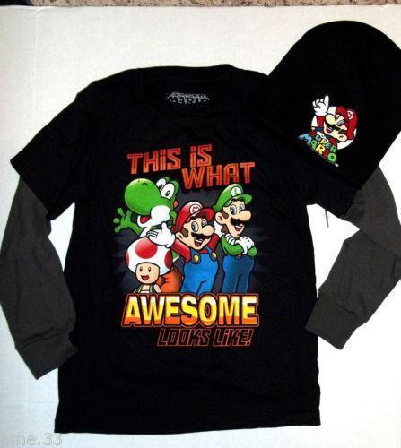 Boys Mario T Shirt Ebay