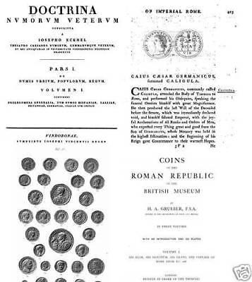 DVD - 260 numismatic books Ancient Rome Roman Empire Republic Caesar Nero